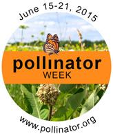 6-19-2015 Pollinator Week logo